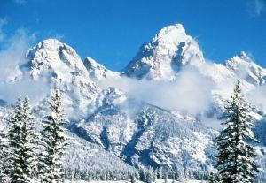 Grand Teton Winter Splendor.
