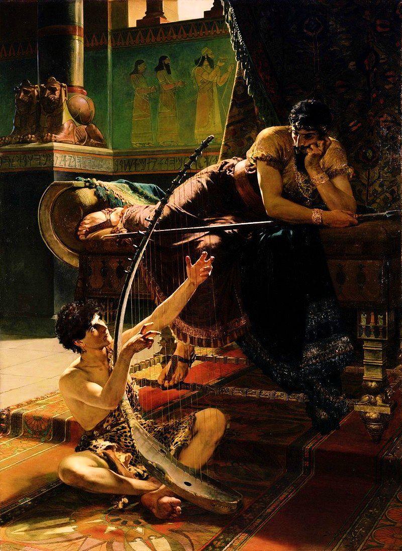 Julius_Kronberg_David_och_Saul_1885_tt.
