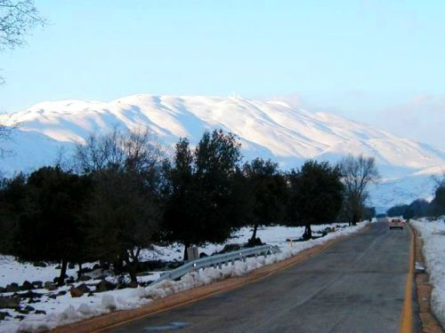 The Way to Mount Hermon.