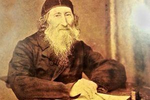 Zvi Hirsch Kalischer, (circa. 1874).