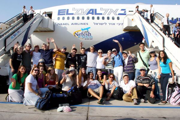 Nefesh B'Nefesh Charter Flight December 2007.
