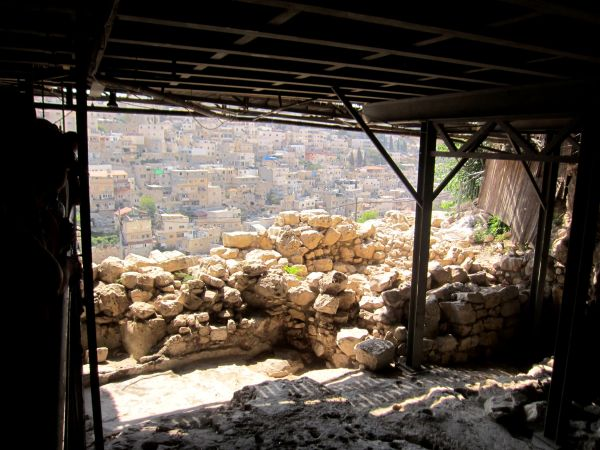 View from King David's Palace, Elef Millim - City of David, Jerusalem, ISRAEL.
