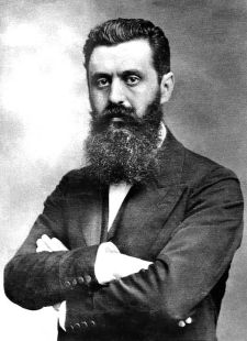 Theodor Herzl (1860-1904). [Public domain].