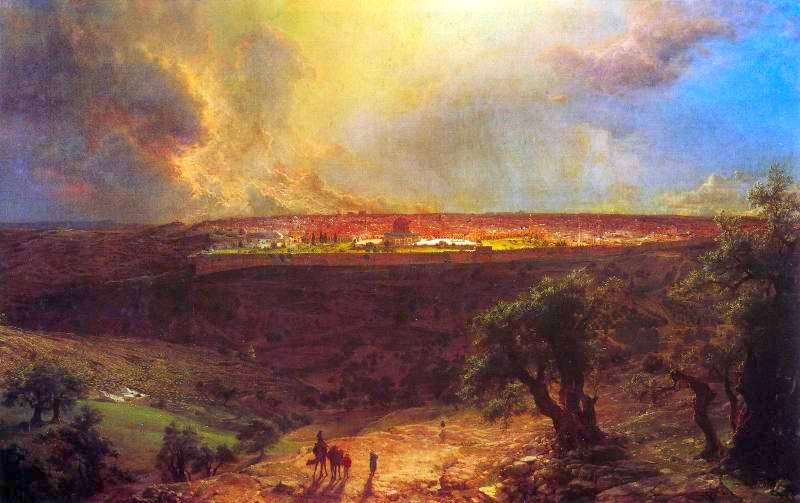 'Jerusalem_from_the_Mount_of_Olives'_by_Frederick_Edwin_Church