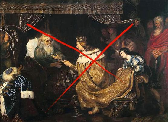 King David Presenting the Scepter to Solomon (circa 1601-1651). By Cornelis de Vos (X)
