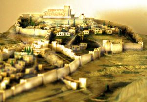 Model: Solomon's Temple, Israel.