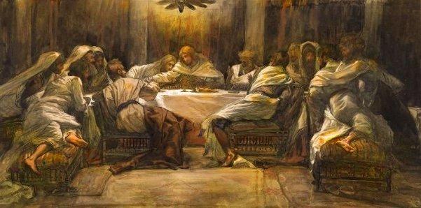 La Céne. Judas met la main dans le plat (The Last Supper: Judas Dipping his Hand in the Dish).