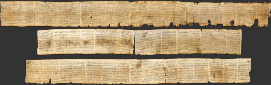 Photographic reproduction of the Great Isaiah Scroll.