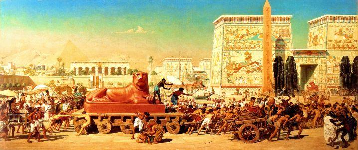 Israel in Egypt. By Edward Poynter.