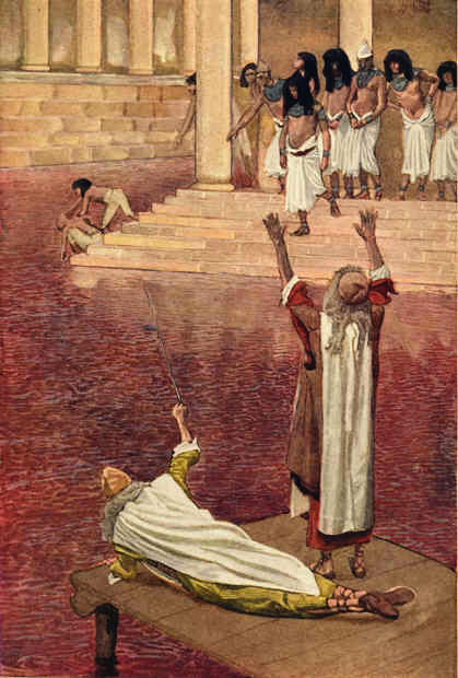Water Is Turned to Blood_Tissot_20