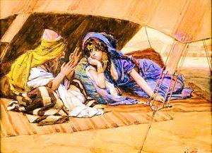 Abram Shares God's Promises with Sarai.