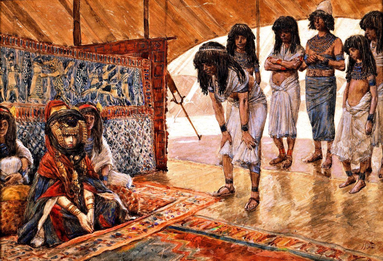 Tissot_Sarai_Is_Taken_to_Pharaoh's_Palace_t2