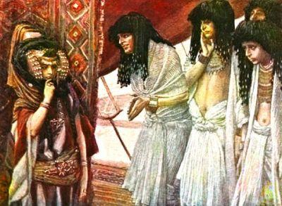 Tissot_The_Egyptians_Admire_Sarai's_Beauty_t