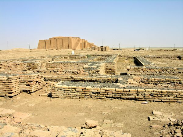 Ruins of Ur in southern Iraq.