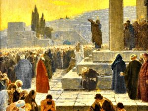 Pentecost preaching.