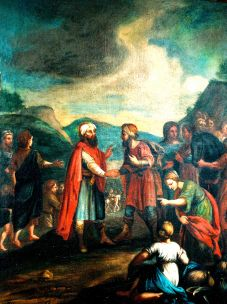 The Separation of Abraham and Lot. By Joseph Ruffini.