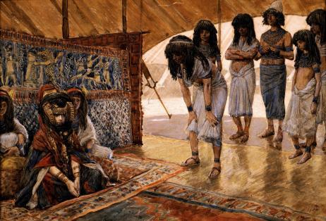 Sarai Is Taken to Pharaoh's Palace
