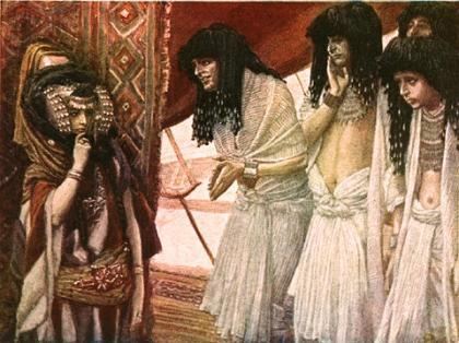 The Egyptians Admire Sarai's Beauty