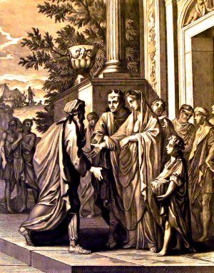 Abimelech restores Sarah, as in Genesis 20:14.