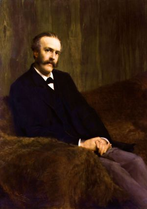 Arthur James Balfour, 1st Earl of Balfour. By Sir Lawrence Alma-Tadema.