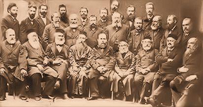 Kattowitz (Katowice) Conference delegates, (circa. 1884).