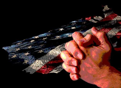 Seeking God in Prayer for America.