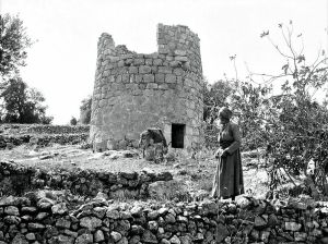 Watchtower, Shepherd's Fields, Bethlehem (circa. 1934).