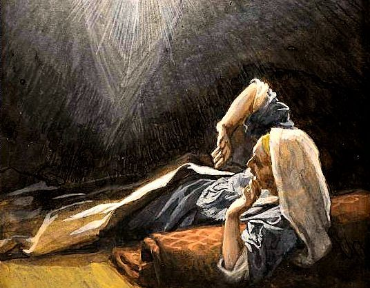 An Angel Speaks to Joseph in a Dream Concerning Mary's
