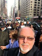 Charles E. McCracken participates in the SHAME ON THE UN event sponsored by the North American Coalition for Israel held in Manhattan, New York, January 12, 2017.