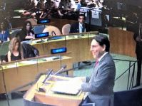 Ambassador Danny Danon, Permanent Representative of Israel to the United Nations.