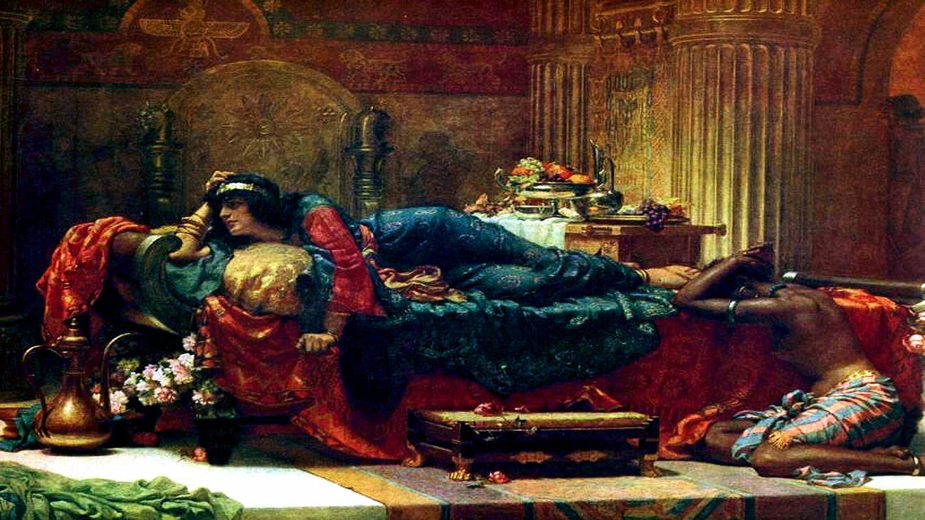 Queen Vashti deposed.