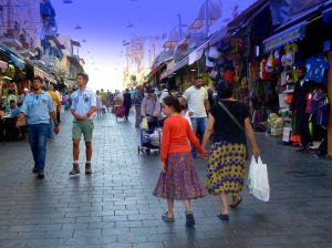 Jerusalem's Mahane Yehuda market, Israel.