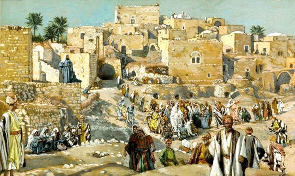 Il allait par les villages en route pour Jérusalem (He Went Through the Villages on the Way to Jerusalem).
