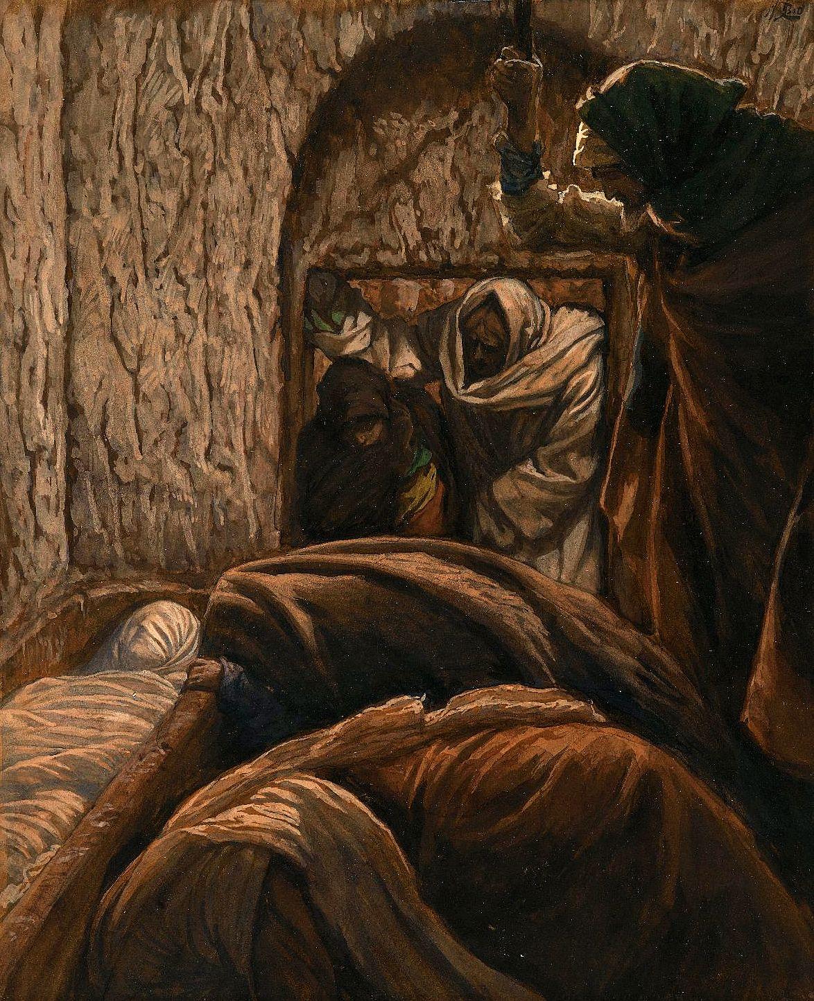 Jésus dans le sépulcre (Jesus in the Sepulchre).