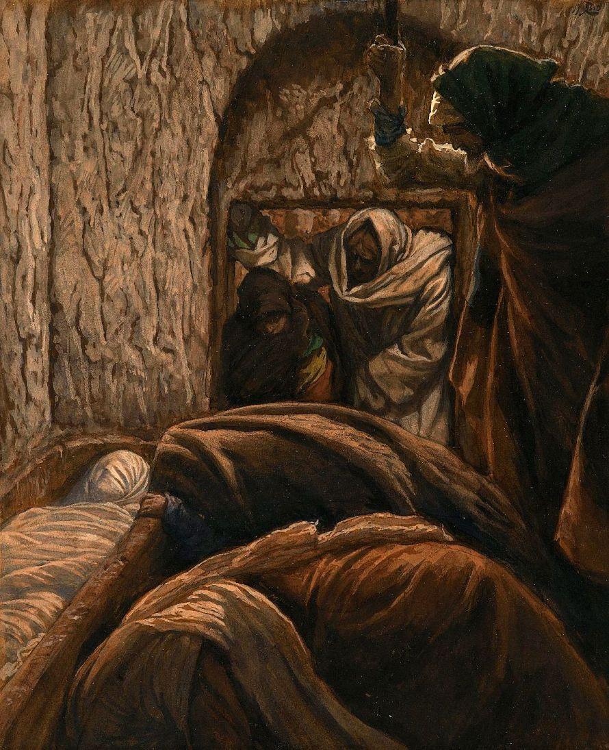 Jésus dans le sépulcre - Jesus in the Sepulcher