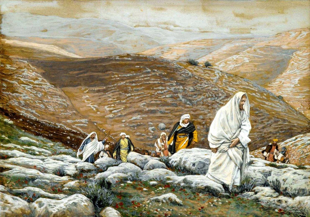 La Vie de Notre-Seigneur Jésus-Christ (With Passover Approaching, Jesus Goes Up to Jerusalem).