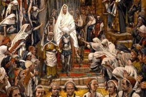 Le cortège dans les rues de Jérusalem, (The Procession in the Streets of Jerusalem)
