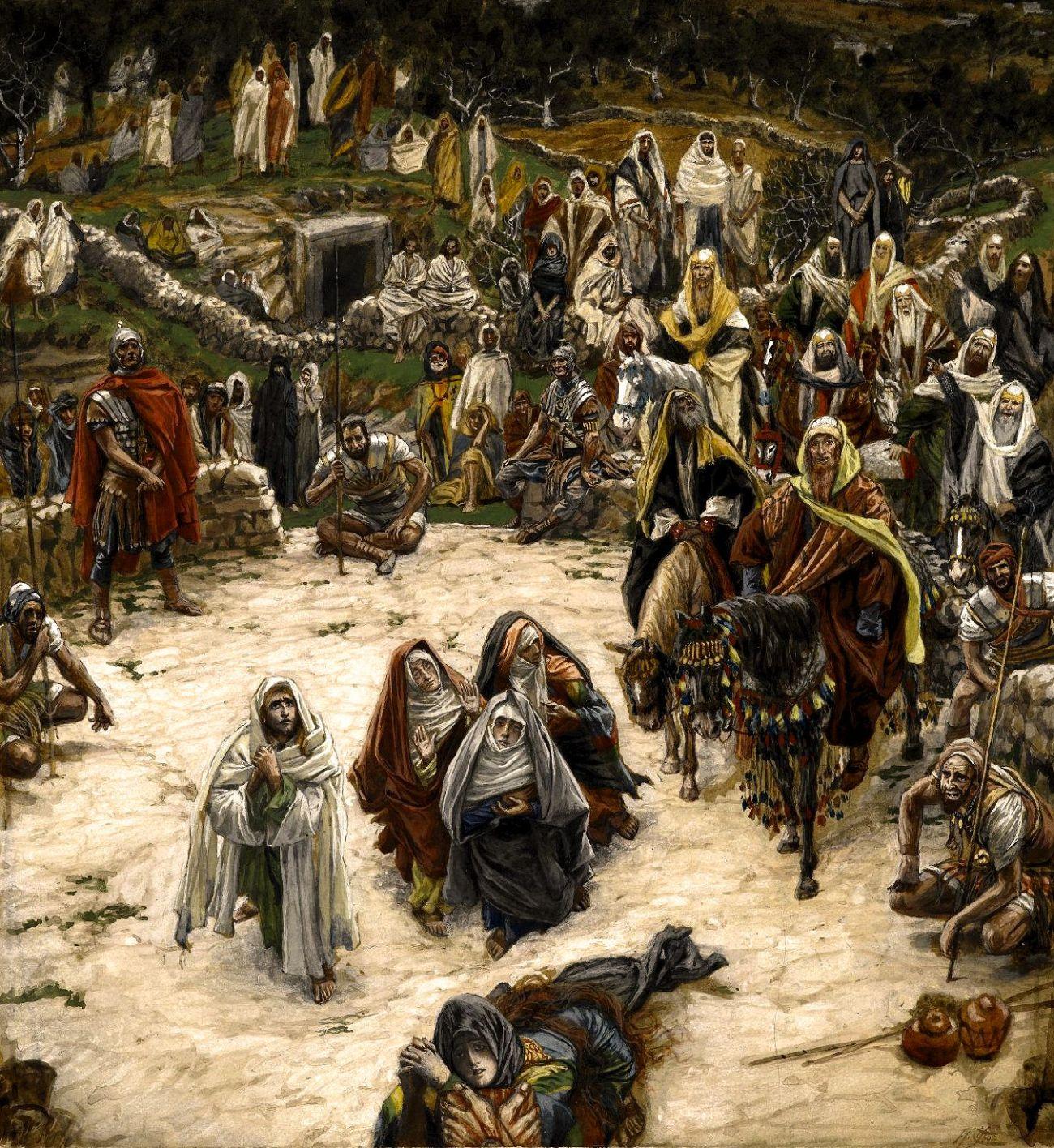 Ce que voyait Notre-Seigneur sur la Croix (What Our Lord Saw from the Cross).