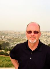 Charles E. McCracken in Jerusalem. Biblically Authentic - Standing with Israel
