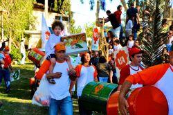 Shavuot Parade at Kibbutz Gan-Shmuel.