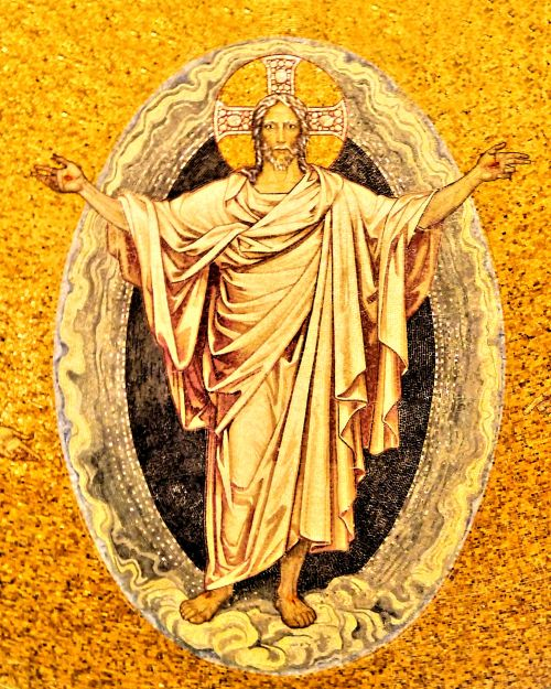 Jesus Christ the risen glorified and; soon returning Son of God.