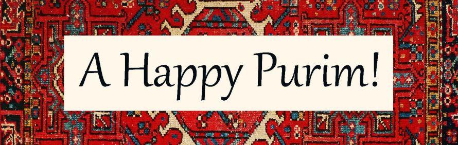 A Happy Purim_carpetsign_banner