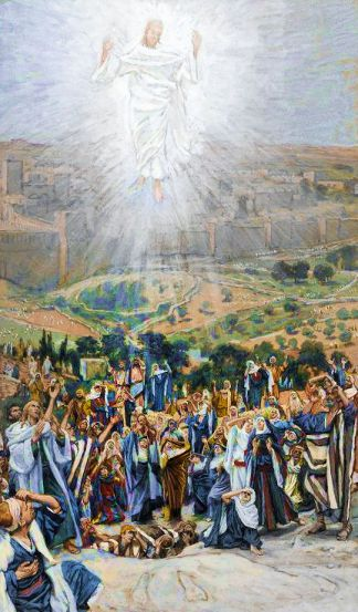 L'Ascension (The Ascension). By James Tissot.