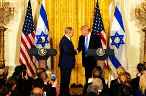 President Donald Trump and Prime Minister Benjamin Netanyahu Joint Press Conference, February 15, 2017.