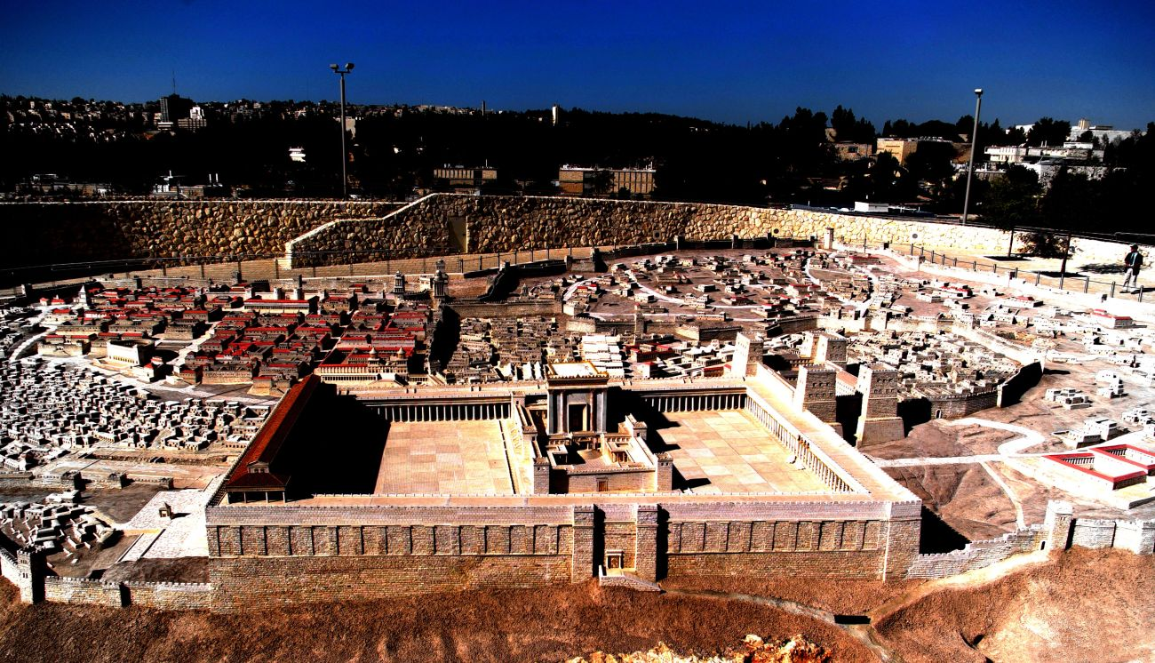 Second Temple Model on the Israel Museum Campus, Jerusalem, Israel. © Charles E. McCracken Archives