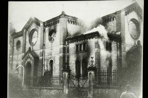 7_Ludwigsburg Synagogue; Burning on Kristallnacht; November Pogroms