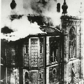 9_Wiesbaden Synagogue Burning; Kristallnacht Pogroms; November 9, 1938