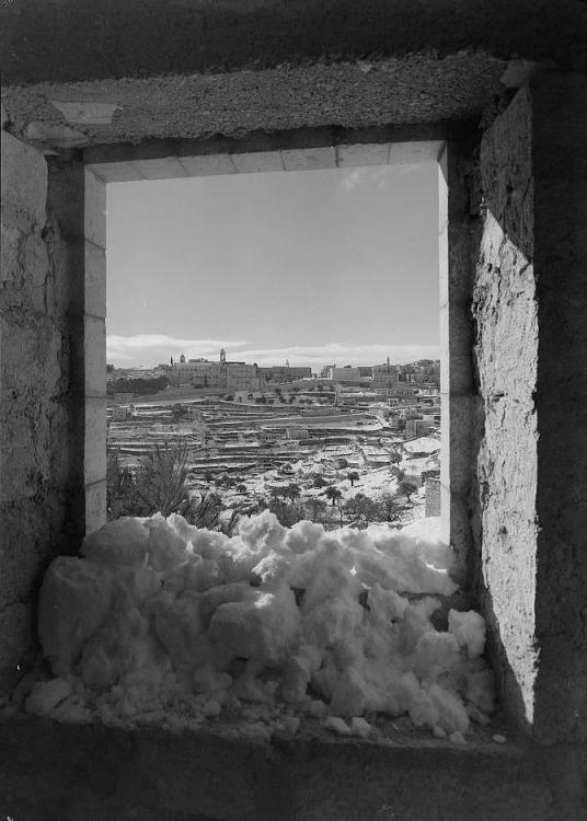 Bethlehem viewed through an open window (1941)_Matson collection