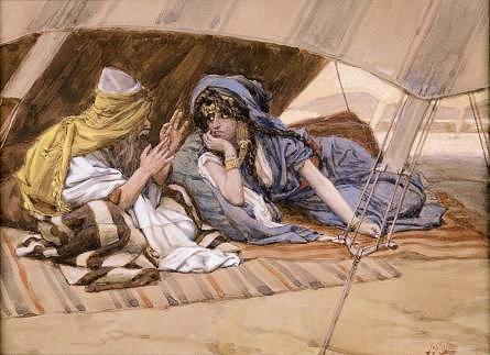 5_Abraham Counsels Sarah_Tissot